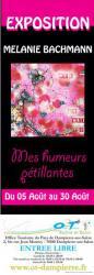 exposition Mélanie Bachmann