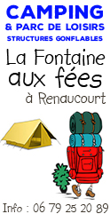 Camping de Renaucourt