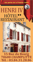 H�tel**Restaurant Henri IV